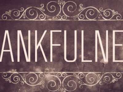 Overflowing with Thankfulness
